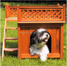 Wooden Pet with a View Pet House