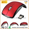 OEM customs logo wireless fordable mouse arc mouse gift mouse