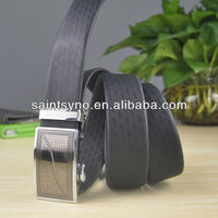 24 Automatic buckle men belt leather L-24