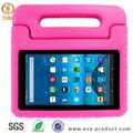Shockproof kids light weight handle stand case for amazon fire 7 2015