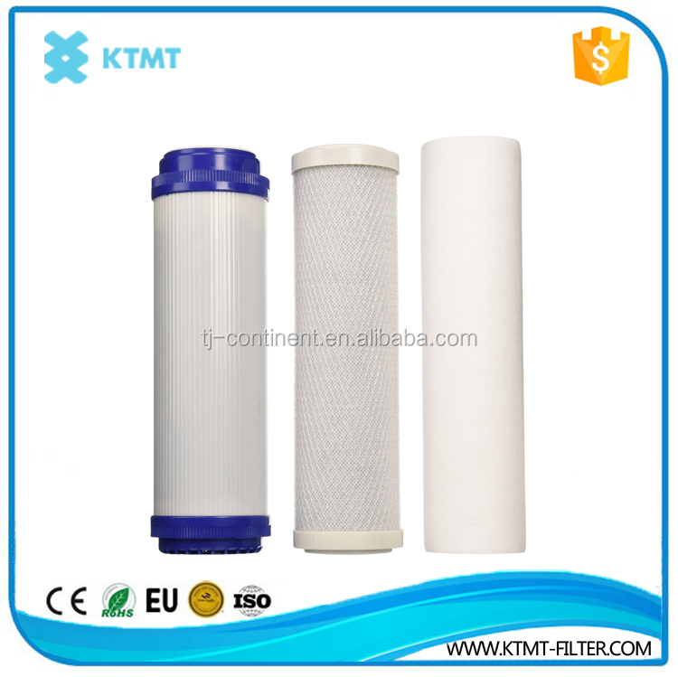 10' pp & activated carbon/ PC/ PP&UDF/ water filter cartridge