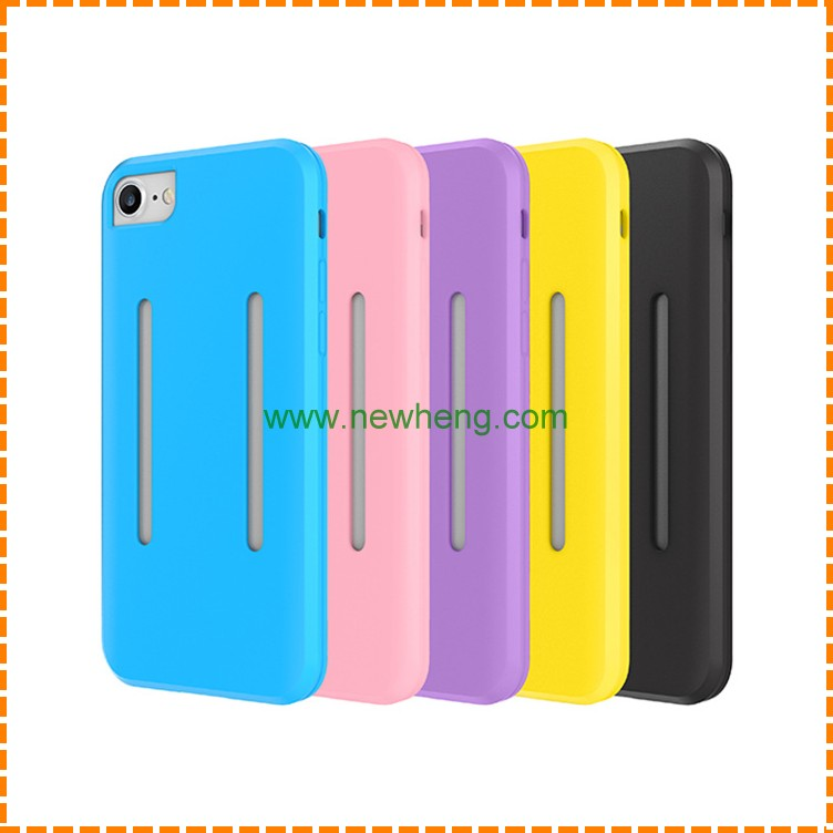 Silicone Gel Cell Phone case Sport Armband Phone Holder Case For iPhone 7