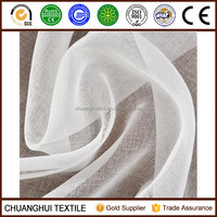 hot sale 100% polyester sheer curtain fabric for penelope