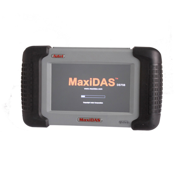Fast Shipment Hot Sale For Original Autel MaxiDAS DS708 Spanish+English Version Wireless Scanner