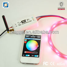 Android/IOS/Ipad/Iphone wifi led controller for lighting led accessories