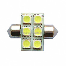 T10x31 Newest Led Licence Plant Light 6SMD 5050 Bulbs