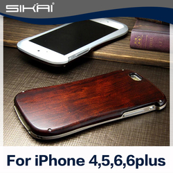 Hot Sale High Quality Bamboo Wood Case Cover For iphone 5 6 6s plus Hard Back Cover