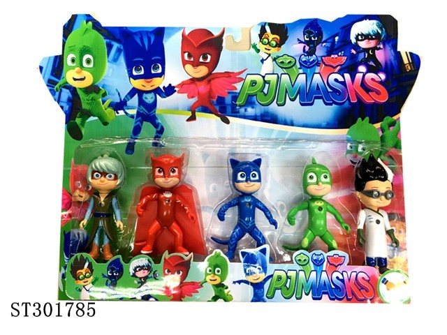 2017 HOT PJ MASKS eye goggle movie action figures toys