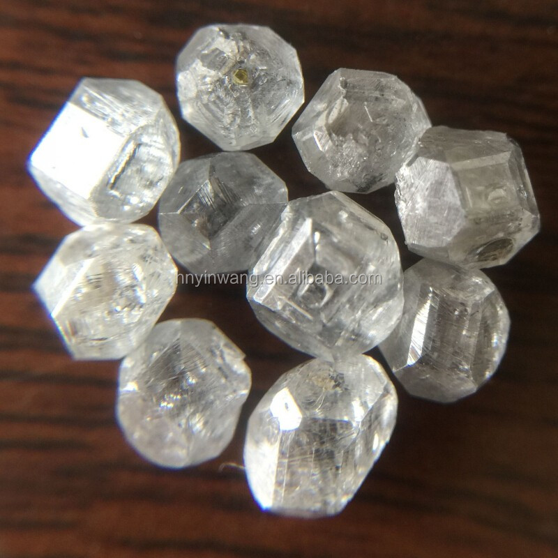 white lab grown CVD /HPHT polished diamond