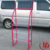 chrome-plated iron wire dish power tools display rack and drawing