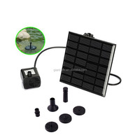 High Efficiency Solar Panel Decorative Pond Fountain Pumps Submersable
