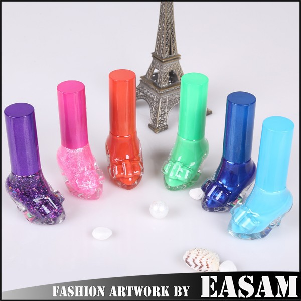 Lady shoe design nail polish/nail lacquer