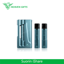 Best Deal Original exchangeable twin electonic cigarette 0.9ml cartridge 1400mAh Suorin iShare Starter Kit