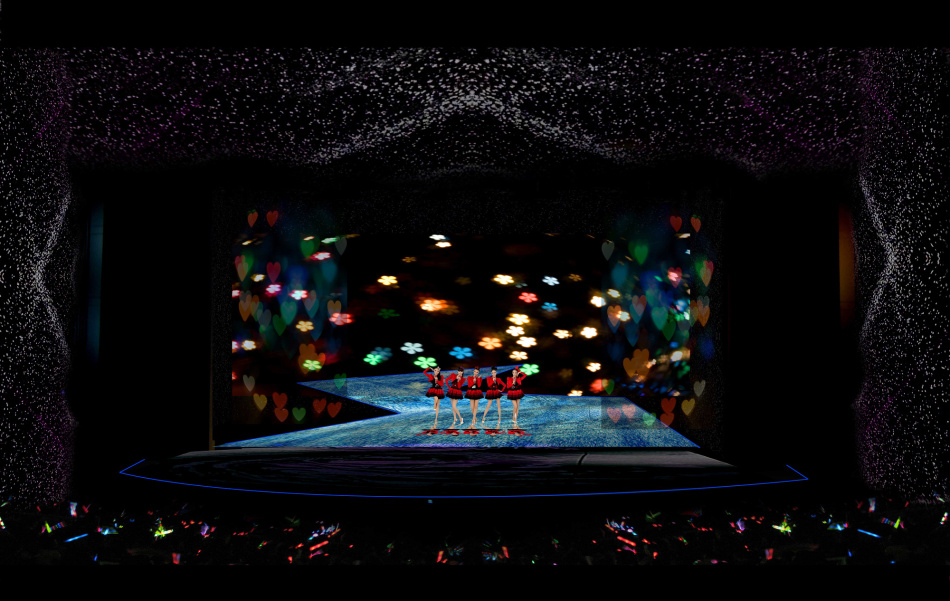 Indoor Slim Die-Casting LED Display Screen Video Wall P4 P5 P6