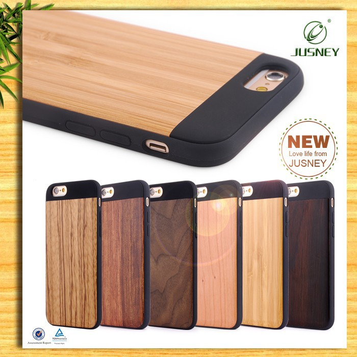 Hot-selling charming wood phone case for iphone/For wood iphone case with custom logo