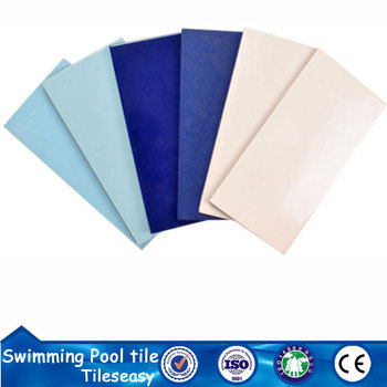 Project international sport blue&white swimming pool ceramic tiles sydney