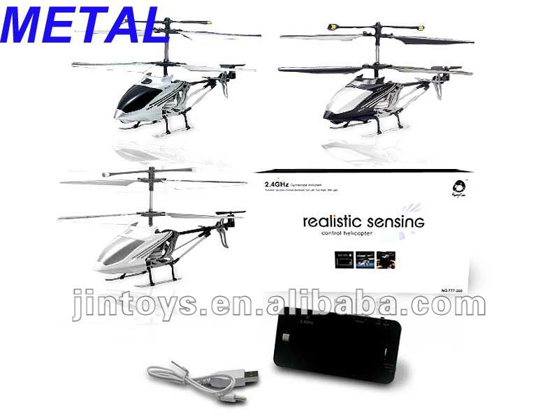 2.4G 3CH METAL RC HELICOPTER WITH GYRO (3 COLORS)