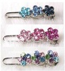 Fashion Cherry Blossom Crystal Dog Hair Clip