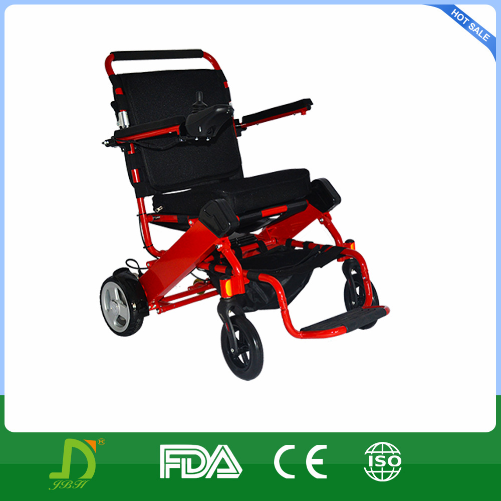 Portable electric wheelchair scooter with lithium battery Portable motorized wheelchair