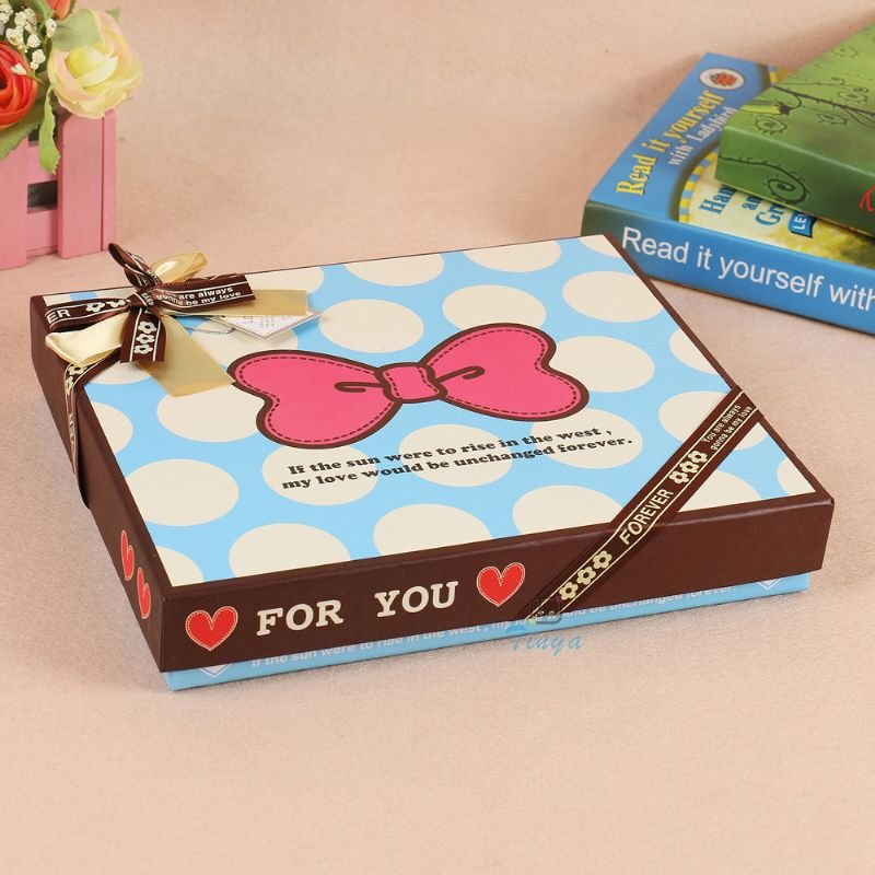 custom packaging sweet paper gift chocolate box