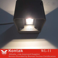 3 years warranty high quality ip65 waterproof outdoor project modern design 6w up and down led wall lamp light