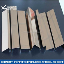 1.2mm stainless steel U shaped capping protection sliding door and window frame