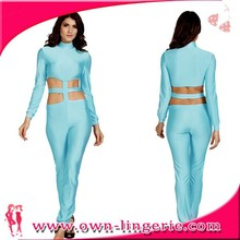 Female clothing no minimum order,women new jumpsuit
