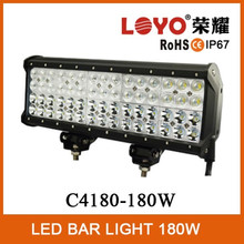15 inch 180W quad row led light bar DC 9~32V wholesale 180w quad row led light bar for truck, offroad, fork lift etc 53180