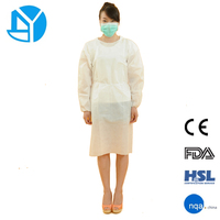 PP Nonwoven Medical Disposable Isolation Gowns