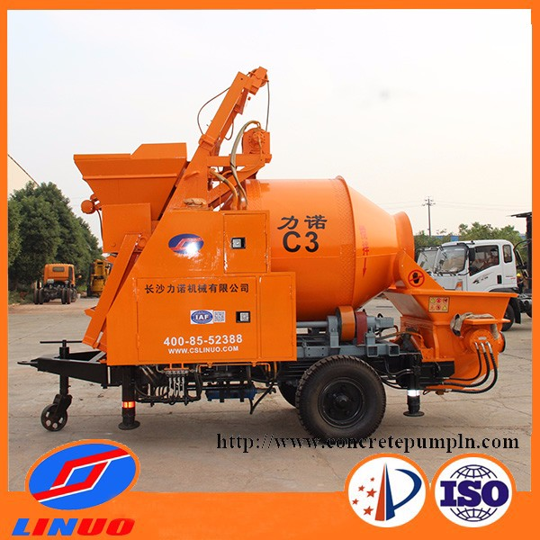 High efficiency portable cement mixer concrete mixer trailer and home concrete mixer for sale