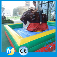 Funny adult game mechanical bull rides park rides mechanical bull for sale