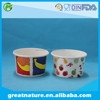3oz frozen yogurt paper packaging cup