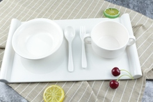 Melamine western dinnerware sets dinnerware sets 47 piece reusable plastic dinnerwarecopper dinnerware set