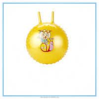 Wholesale toys pvc inflatable handle ball for kids