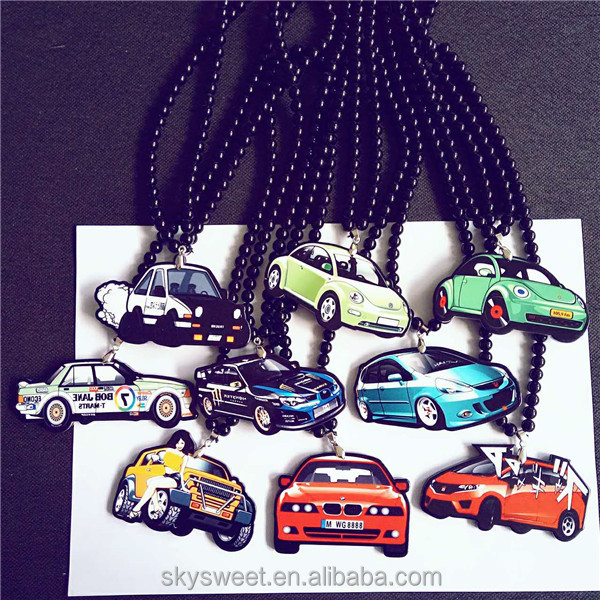 cars models accessories rearview mirror necklace accessories, fashion jewelry 2016(SWTMD2653)