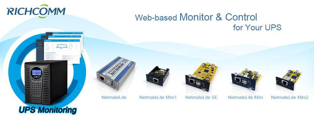 Sine Wave UPS No Break Power Supply Monitoring System Modular UPS Monitor UPS SNMP Card(NetmateLite Mini)