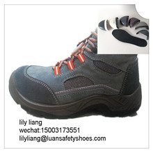Plastic engineers buffalo hide safety plastic toe cap shoes
