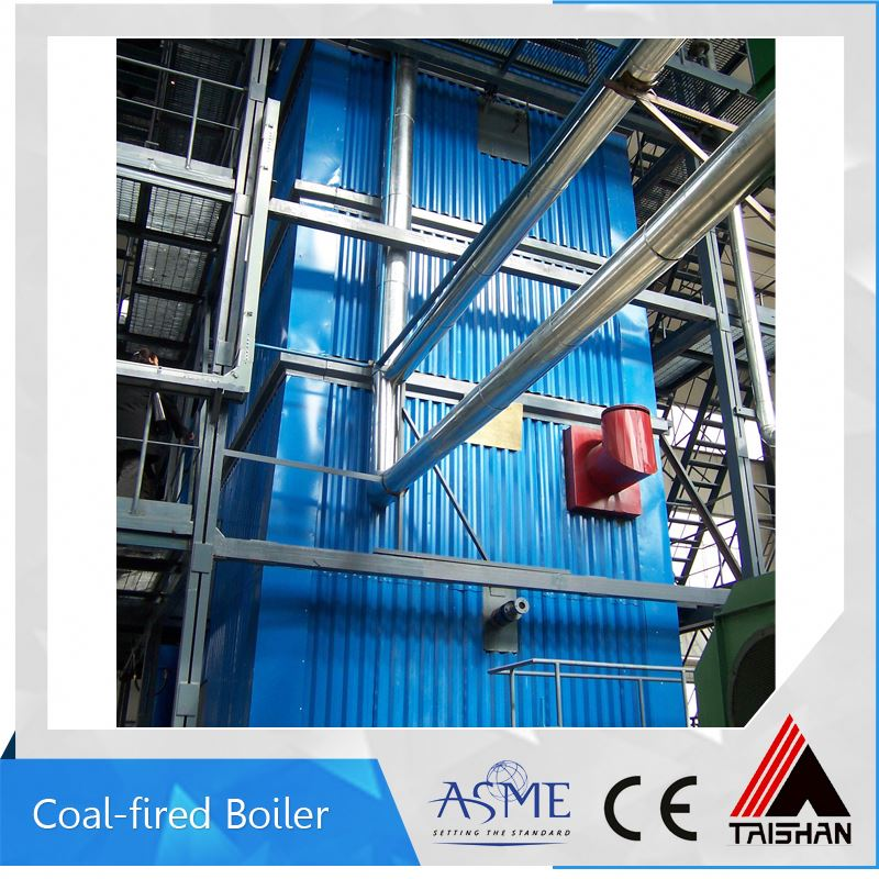 Vertical Industrial Powdered Coal Fired Boiler For Home