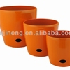 Self Water Flower Pots Plastic Painting