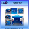 10x10 Custom Printed Trade Show Folding Pop up Canopy with side walls