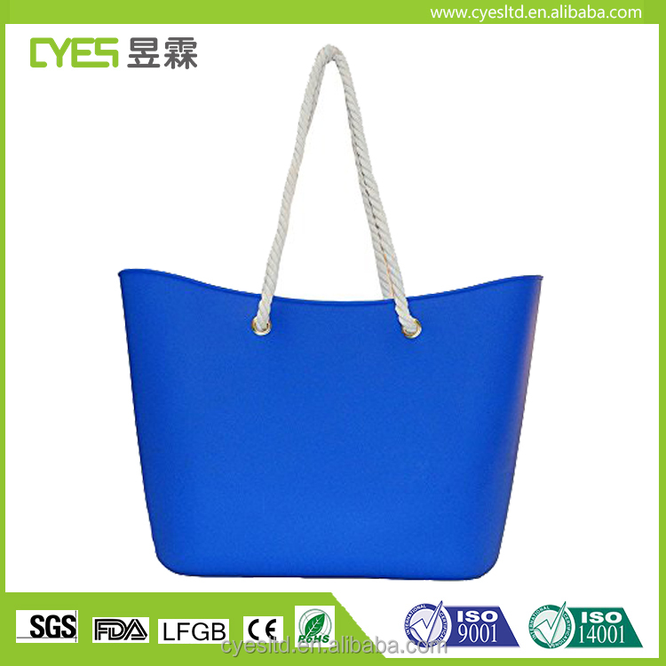 Wholesale High Quality Trend Womens Silicone Waterproof Handbag