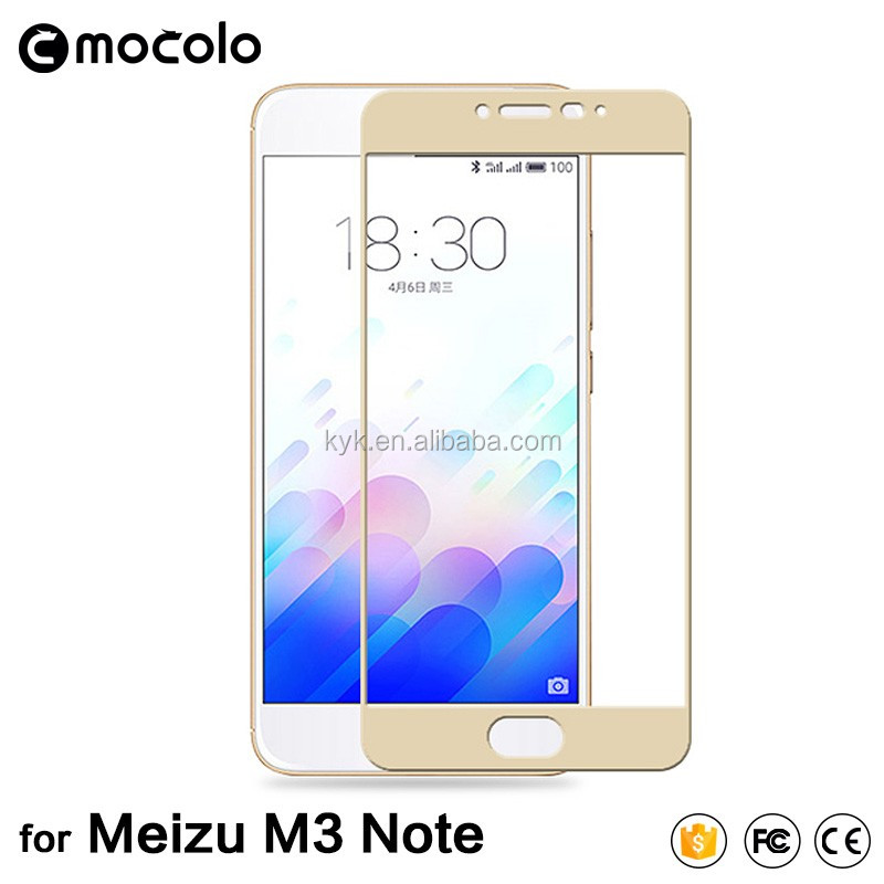 100% transparent Tempered Glass Screen Protector for Meizu M3 meilan note3, Scratch Proof Protective Film