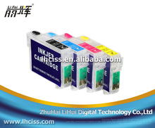 T1951-T1954 refill ink cartridge T1951/T1952/T1953/T1954 with reset chip for epson XP-101 XP-201 XP-211