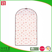 coustomer's logo wholesale cotton fabric garment bag manufactured in China