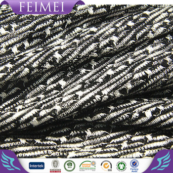 China factory 50%rayon 50%polyester coarse needle hacci fabric for sweater
