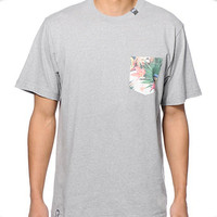 Custom Made Mens Hawaii Pocket T