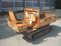 Used Crawler Dump Yanmar C10R - 1 <SOLD OUT> / Max Load Weight : 990 kg , Vessel Size : 1600 x 830 mm , Rubber shoe