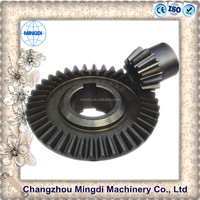 pinion Spiral Bevel Gear motorcycle wheels/ Transmission Parts gear for paper shredder