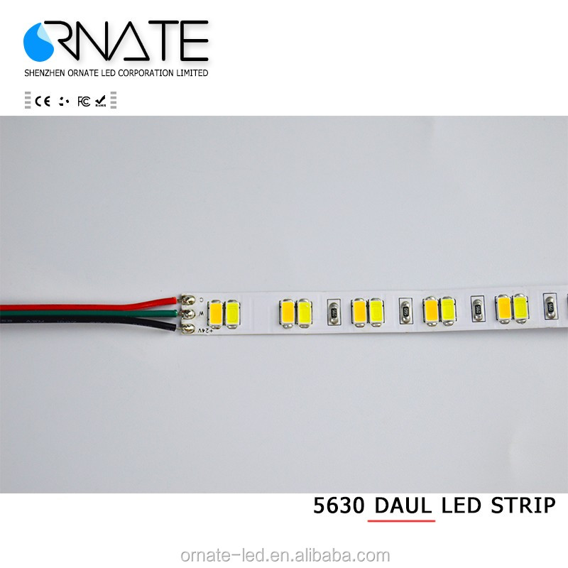High CRI RGBW + Dual White Led Strip 5050 60Leds 72w dimmable CCT led strip light