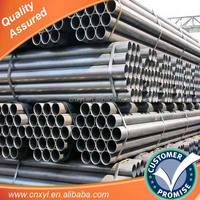 ERW weld black carbon steel pipe price per ton/japanes tube 8